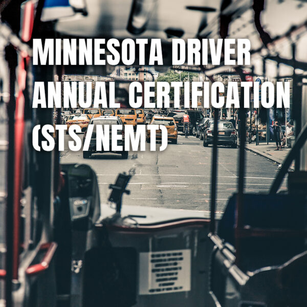 Minnesota Driver Annual Certification (STS/NEMT)